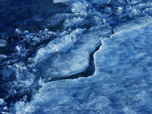 льдед floe стоковое изображение rf