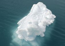 льдед floe Стоковые Фотографии RF