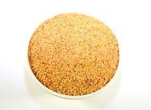 льняное семя шара золотистое Стоковые Изображения RF