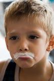 льдед мальчика cream Стоковые Фотографии RF