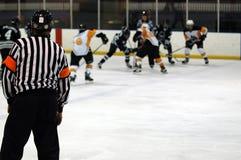 льдед хоккея игры Стоковое Изображение RF