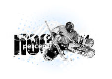 льдед хоккея 3 Стоковое Изображение RF