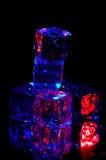льдед 2 кубиков Стоковое Изображение