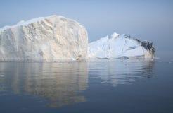 Льды и айсберги полярных областей земли Стоковые Фотографии RF