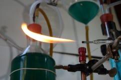 Лэндфилл-газ fom пламени газа Стоковое Фото