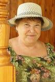 любимая бабушка Стоковая Фотография