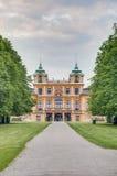 Любимейшее Schloss в Ludwigsburg, Германии стоковое фото rf