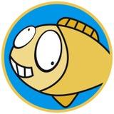 любимчики иконы рыб Стоковое Фото