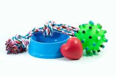 Любимчики концепция друзей Игрушки шара и резины любимчика Стоковое фото RF