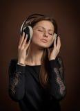 Любитель музыки Стоковое Фото