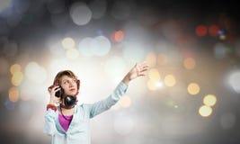 Любитель музыки Стоковые Изображения RF