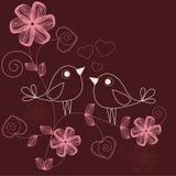 любить птиц Стоковое Фото