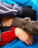 любить hug стоковое фото
