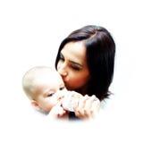 любит маму вы Стоковые Изображения RF