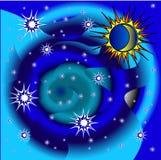 Любит планету Стоковое Изображение RF