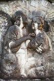 Любовники в камне в Шотландии стоковая фотография rf