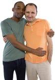 Любовники гомосексуалиста Стоковое Фото