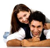 любовники пар молодые Стоковое фото RF