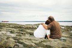 любовники пар Стоковое Изображение