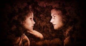 Любовники потерянные в одине другого Стоковые Фото