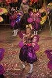 любовники танцора бабочки Стоковая Фотография