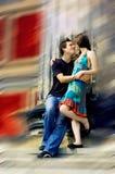 любовники 2 счастья Стоковое Изображение