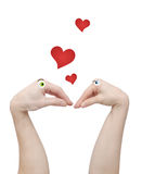 любовники 2 Стоковая Фотография RF
