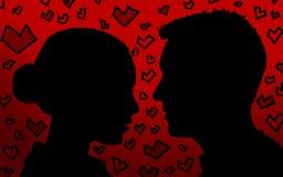 Любовники стоковое изображение