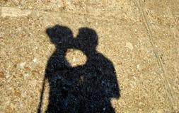 Любовники Стоковое фото RF
