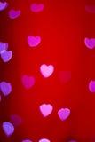 Любовники Boke сердца стоковое фото