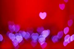 Любовники Boke сердца стоковые изображения