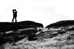 Любовники i стоковое фото