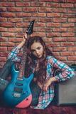 Любовник рок-музыки Стоковые Изображения