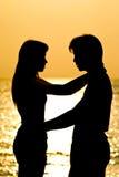 любовник hug Стоковое Изображение RF