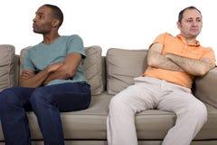 Любовник Quarrell гомосексуалиста Стоковые Изображения RF