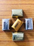 Любовь для шоколада стоковая фотография rf