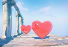 Любовь мост старый Стоковые Изображения RF