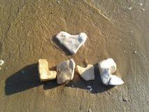 Любовь пляжа стоковое изображение rf