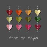 Любовь также вектор иллюстрации притяжки corel Стоковое Изображение