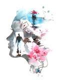 Любовь иллюстрация штока