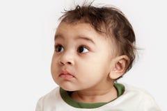 любознательний индийский малыш Стоковое Изображение RF