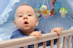 любознательний младенец Стоковые Фотографии RF