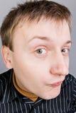 любознательний человек Стоковая Фотография RF