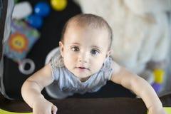Любознательный младенец Стоковые Изображения