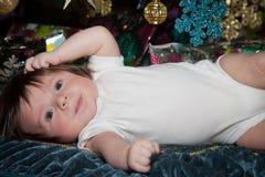 Любознательный о рождестве стоковые фото