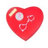 Любящая концепция подарка сердец Стоковые Фотографии RF