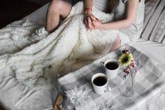 Любящие пары в уютном маяке Стоковая Фотография