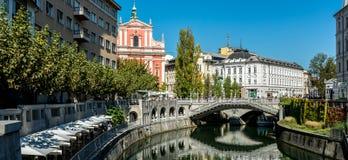 Любляна Словения Стоковое фото RF