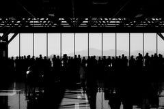 люди авиапорта Стоковое фото RF
