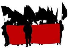 Люди 3 анархии Стоковые Фото